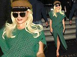 Lady Gaga leaves her hotel in London, UK.\n\nPictured: Lady Gaga\nRef: SPL1043573  070615  \nPicture by: Splash\n\nSplash News and Pictures\nLos Angeles: 310-821-2666\nNew York: 212-619-2666\nLondon: 870-934-2666\nphotodesk@splashnews.com\n