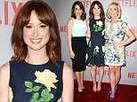 """WEST HOLLYWOOD, CA - JUNE 07:  (L-R) Tina Fey, Ellie Kemper and Jane Krakowski attend the FYC screening of Netflix's """"Unbreakable Kimmy Schmidt"""" at Pacific Design Center on June 7, 2015 in West Hollywood, California.  (Photo by Jason LaVeris/FilmMagic)"""