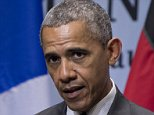 US President Barack Obama  speaks during a news conference at the G-7 summit in Schloss Elmau hotel near Garmisch-Partenkirchen, southern Germany, Monday, June 8, 2015. (AP Photo/Carolyn Kaster)