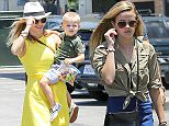 7.JUNE.2015 - SANTA MONICA - USA *STRICTLY AVAILABLE FOR UK AND GERMANY USE ONLY* *** EXCLUSIVE ALL ROUND PICTURES *** *DOUBLE SPACE RATES APPLY FOR GERMAN CLIENTS* PETITE BEAUTY REESE WITHERSPOON WAS BLISSFULLY HAPPY ON SATURDAY AFTERNOON AS SHE WAS SURROUNDED BY HER LOVED ONES, GRABBING A BITE TO EAT AT BLUE PLATE IN SANTA MONICA. THE 'HOT PURSUIT' ACTRESS WAS ACCOMPANIED BY HUBBY JIM TOTH, HER YOUNGEST SON TENNESSEE AND DAUGHTER AVA AS SHE WALKED BY THE BEACH BEFORE HEADING INTO THE TRENDY SANTA MONICA EATERY. REESE LOOKED LOVELY IN A BRIGHT YELLOW SUNDRESS, STRAW FEDORA, DENIM JACKET AND STUDDED SANDALS AS SHE HEADED INTO THE RESTAURANT. BYLINE MUST READ : XPOSUREPHOTOS.COM ***UK CLIENTS - PICTURES CONTAINING CHILDREN PLEASE PIXELATE FACE PRIOR TO PUBLICATION *** *UK CLIENTS MUST CALL PRIOR TO TV OR ONLINE USAGE PLEASE TELEPHONE 0208 344 2007*