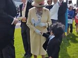 Plucky little boy walks up to the Queen and shakes her hand dmvidpics 2015-06-08 at 21.22.20.png
