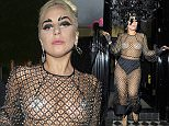 Lady Gaga late visit to Philip Treacy shop before heading to the Box club London  Pictured: Lady Gaga Ref: SPL1046601  080615   Picture by: JJ  Splash News and Pictures Los Angeles: 310-821-2666 New York: 212-619-2666 London: 870-934-2666 photodesk@splashnews.com