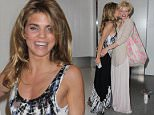 Los Angeles, CA - AnnaLynne and her sister Angel McCord are all smiles as they reunite at LAX Airport.  The talented siblings shared a warm hug and kiss before they headed to their awaiting ride.\nAKM-GSI          June 7 2015\nTo License These Photos, Please Contact :\nSteve Ginsburg\n(310) 505-8447\n(323) 423-9397\nsteve@akmgsi.com\nsales@akmgsi.com\nor\nMaria Buda\n(917) 242-1505\nmbuda@akmgsi.com\nginsburgspalyinc@gmail.com