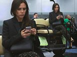 EXCLUSIVE: Victoria Beckham gets the VIP treatment at Miami airport - catching a ride from her gate on a cart to her waiting limo. Victoria was dressed in black as she landed in Florida on Thursday night after spending a week in New York. \n\nPictured: Victoria Beckham\nRef: SPL1024041  040615   EXCLUSIVE\nPicture by: Splash News\n\nSplash News and Pictures\nLos Angeles: 310-821-2666\nNew York: 212-619-2666\nLondon: 870-934-2666\nphotodesk@splashnews.com\n