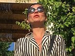 Kate Moss and firens on holiday in Bodrum Instagram