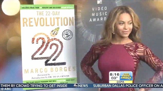Big announcement: Though fans were expecting a new single or a second pregnancy, Beyonce revealed her  big news on Good Morning America was about her vegan diet and new meal delivery service