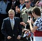 "Sen. Lindsey Graham, R-S.C. arrives to announce his bid for the presidency, Monday, June 1, 2015, in Central, S.C. Graham opened his campaign for the Republican presidential nomination Monday with a grim accounting of ""radical Islam ... running wild"" in a world imperiled also by Iran's nuclear ambitions. (AP Photo/Rainier Ehrhardt)"