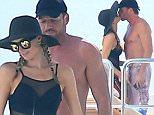 Paris Hilton is seen on a luxury mega yacht with her new boyfriend Thomas Gross in Formentera, 9 June 2015.\n9 June 2015.\nPlease byline: G Tres/Vantagenews.co.uk