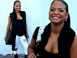 Christina Milian out and about in West Hollywood wearing torn white jeans\nFeaturing: Christina Milian\nWhere: Los Angeles, California, United States\nWhen: 08 Jun 2015\nCredit: Winston Burris/WENN.com
