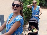 June 07, 2015.. .. Actress Teresa Palmer and son Bodhi out for a stroll in Maui, Hawaii. Teresa and her family have been in Maui to attend the Maui Film Festival. .. .. Exclusive.. UK RIGHTS ONLY.. .. Pictures by : FameFlynet UK © 2015.. Tel : +44 (0)20 3551 5049.. Email : info@fameflynet.uk.com