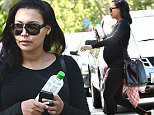 EXCLUSIVE: A Pregnant Naya Rivera Leaves a Friends House\n\nPictured: Naya Rivera\nRef: SPL1046565  050615   EXCLUSIVE\nPicture by: Photographer Group / Splash News\n\nSplash News and Pictures\nLos Angeles: 310-821-2666\nNew York: 212-619-2666\nLondon: 870-934-2666\nphotodesk@splashnews.com\n