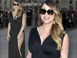 """07.JUNE.2015  - PARIS - FRANCE \n*** AVAILABLE FOR UK SALE ONLY ***\nMARIAH CAREY LEAVES HOTEL THE PENINSULA TO GET TO THE RESTAURANT NAMED """"L'AVENUE"""" IN PARIS. MARIAH WAS WEARING A BLACK DRESS AND SUNGLASSES\nBYLINE MUST READ : XPOSUREPHOTOS.COM\n***UK CLIENTS - PICTURES CONTAINING CHILDREN PLEASE PIXELATE FACE PRIOR TO PUBLICATION ***\n**UK CLIENTS MUST CALL PRIOR TO TV OR ONLINE USAGE PLEASE TELEPHONE 0208 344 2007**"""