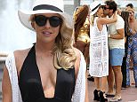 Mandatory Credit: Photo by Ralph Petts/REX Shutterstock (4831264ah)  Lydia Bright and James Argent  'The Only Way Is Essex' in Marbella, Spain - 08 Jun 2015
