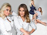 EXCLUSIVE PICTURE: MATRIXSTUDIOS.CO.UK\\nPLEASE CREDIT ON ALL USES\\n\\nWORLD RIGHTS\\n\\n\\n***FEES TO BE AGREED BEFORE USE***\\n\\nSam and Billie Faiers fashion shoot\\n\\nREF: MSA 151810