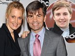 NEW YORK, NY - MAY 14:  Ali Wentworth (L) and George Stephanopoulos attend A Celebration of Barbara Walters Cocktail Reception Red Carpet at the Four Seasons Restaurant on May 14, 2014 in New York City.  (Photo by D Dipasupil/Getty Images)