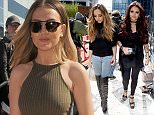 Mandatory Credit: Photo by MCPIX/REX Shutterstock (4831713e)  Jesy Nelson and Jade Thirlwall at the studios of Capital Radio  Little Mix out and about, Manchester, Britain - 09 Jun 2015