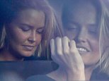 EXCLUSIVE TO INF.\nMay 31, 2015: Lara Bingle nibbles on her nails while setting in LA traffic.\nMandatory Credit: INFphoto.com Ref.: infusla-257/277/302