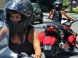 EXCLUSIVE: Karrueche Tran rides alone to clear her head after Chris Brown club drama. Since Thursday's incident Karrueche has been resting and staying in but today found the energy to go for a ride.\n\nPictured: Karrueche Tran\nRef: SPL1046302  070615   EXCLUSIVE\nPicture by: Khrome/Splash News\n\nSplash News and Pictures\nLos Angeles: 310-821-2666\nNew York: 212-619-2666\nLondon: 870-934-2666\nphotodesk@splashnews.com\n