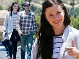 EXCLUSIVE TO INF.\nJune 6, 2015: Ireland Baldwin, along with her new boyfriend, fills up their ride before having a romantic courtyard breakfast in Calabasas. Later in the day, the 19-year-old model is in good spirits as she finds time to go for a nature hike in the hills of Malibu, California with her Siberian Husky. \nMandatory Credit: INFphoto.com\nRef: infusla-257/277/302