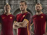 AS ROMA INSTAGRAM PICTURE - officialasroma REVEALED: The new ASRoma Nike kit for 2015-16