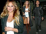 Chrissy Teigen and John Legend Have Dinner at Madeos  Pictured: Chrissy Teigen, John Legend Ref: SPL1049999  090615   Picture by: Photographer Group / Splash News  Splash News and Pictures Los Angeles: 310-821-2666 New York: 212-619-2666 London: 870-934-2666 photodesk@splashnews.com