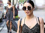 Actress Vanessa Hudgens, wearing a fringed summer dress, leaves for her evening performance of 'Gigi: The Musical' in New York City on June 9, 2015.\n\nPictured: Vanessa Hudgens\nRef: SPL1049769  090615  \nPicture by: Christopher Peterson/Splash News\n\nSplash News and Pictures\nLos Angeles: 310-821-2666\nNew York: 212-619-2666\nLondon: 870-934-2666\nphotodesk@splashnews.com\n
