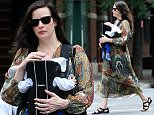 Actress Liv Tyler, wearing a Maxi dress, and her son Sailor Gardner walk in the West Village of New York City, NY on June 9, 2015.\n\nPictured: Liv Tyler and Sailor Gardner\nRef: SPL1049426  090615  \nPicture by: Christopher Peterson/Splash News\n\nSplash News and Pictures\nLos Angeles: 310-821-2666\nNew York: 212-619-2666\nLondon: 870-934-2666\nphotodesk@splashnews.com\n