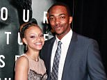 Mandatory Credit: Photo by BEI/REX_Shutterstock (1280652h).. Sheletta Chaptal and Anthony Mackie.. 'The Adjustment Bureau' Film Premiere, New York, America  - 14 Feb 2011.. ..