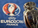 A picture taken  on May 12, 2015 in Paris shows the  Henri Delaunay cup, the trophy of the UEFA European Football Championship. The Euro 2016 event will feature 24 countries for the first time, up from 16 in 2012, and France becomes the first country to stage the European Championship three times. AFP PHOTO / FRANCK FIFEFRANCK FIFE/AFP/Getty Images