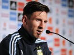 Argentinian football team player Lionel Messi speaks during a press conference in La Serena, Chile on June 9, 2015, ahead of the Copa America 2015, which will take place from June 11 to July 4. AFP PHOTO/VLADIMIR RODASVLADIMIR RODAS/AFP/Getty Images