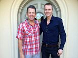 Racing Cyclist Lance Armstrong and footballer Geoff Thomas on 07/03/15.
