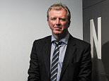 NEWCASTLE UPON TYNE, ENGLAND - JUNE 10:  Newcastle United's New Head Coach Steve McClaren poses for photographs with the NUFC sign at St.James' Park during the Newcastle United Photo call on June 10, 2015, in Newcastle upon Tyne, England. (Photo by Serena Taylor/Newcastle United via Getty Images)