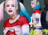 Picture Shows: Margot Robbie  June 08, 2015\n \n Stars are spotted on the set of 'Suicide Squad', at the University of Ontario Institute of Technology, in Toronto, Canada.  \n \n Exclusive All Rounder\n UK RIGHTS ONLY \n FameFlynet UK © 2015\n Tel : +44 (0)20 3551 5049\n Email : info@fameflynet.uk.com