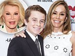 NEW YORK, NY - JUNE 09: (L-R) Cooper Endicott and his mother, Melissa Rivers, attend the celebration of God's Love We Deliver returning to Soho with a dedication of the new Michael Kors building on June 9, 2015 in New York City.  (Photo by Debra L Rothenberg/Getty Images)