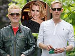 LONDON, ENGLAND - JUNE 08:  (EXCLUSIVE COVERAGE) Chris Evans and Laurence Fox are seen out and about in North London  on June 8, 2015 in London, England.  (Photo by Crowder/Legge/GC Images)