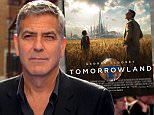 LONDON, ENGLAND - MAY 17:  George Clooney attends the Tomorrowland: A World Beyond, European premiere at Leicester Square on May 17, 2015 in London, England. (Photo by Stuart C. Wilson/Getty Images)
