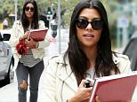 Picture Shows: Kourtney Kardashian  June 09, 2015\n \n Reality star and busy mom Kourtney Kardashian is seen leaving a business meeting in Beverly Hills, California. Kourtney was showing off her slender physique, six months after welcoming her third child with partner Scott Disick. \n \n Non-Exclusive\n UK RIGHTS ONLY\n \n Pictures by : FameFlynet UK © 2015\n Tel : +44 (0)20 3551 5049\n Email : info@fameflynet.uk.com