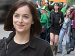 "eURN: AD*171977105  Headline: Dakota Johnson on the ""How to Be Single"" movie set in NYC Caption: Dakota Johnson seen filming a St Patrick's Day Parade scene on the ""How to Be Single"" movie set in Midtown, Manhattan.  Pictured: Dakota Johnson Ref: SPL1048534  090615   Picture by: Jose Perez / Splash News  Splash News and Pictures Los Angeles: 310-821-2666 New York: 212-619-2666 London: 870-934-2666 photodesk@splashnews.com  Photographer: Jose Perez / Splash News Loaded on 10/06/2015 at 01:26 Copyright: Splash News Provider: Jose Perez / Splash News  Properties: RGB JPEG Image (18560K 1055K 17.6:1) 1984w x 3193h at 72 x 72 dpi  Routing: DM News : GroupFeeds (Comms), GeneralFeed (Miscellaneous) DM Showbiz : SHOWBIZ (Miscellaneous) DM Online : Online Previews (Miscellaneous), CMS Out (Miscellaneous)  Parking:"
