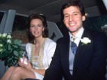 Mandatory Credit: Photo by Eddie Boldizsar/REX Shutterstock (178598a)  SEBASTIAN COE WITH WIFE  WEDDING OF SEBASTIAN COE AND NICKY MCIRVINE, BRITAIN - 1990