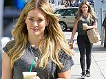 """Picture Shows: Hilary Duff  June 10, 2015    Actress and singer, Hilary Duff stops by Starbucks in Beverly Hills, California to grab a few drinks to go. Hilary recently opened up to the Daily Telegraph about her relationship with former husband Mike Comrie, """"We talk every day and spend time with each other.""""    Non-Exclusive  UK RIGHTS ONLY    pictures by : FameFlynet UK © 2015  Tel : +44 (0)20 3551 5049  Email : info@fameflynet.uk.com"""