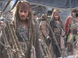 Exclusive - Johnny Depp on set of Pirates of the Caribbean: Dead Men Tell No Tales being filmed on the Gold Coast.\nincluding in photos \tKevin McNally and Kaya Scodelario\nDirecters - \nJoachim R¯nning\t\nEspen Sandberg\t
