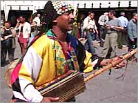 A North African musician