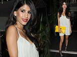 11 Jun 2015 - MANCHESTER - UK  JASMIN WALIA AND HER BOYFRIEND ROSS WORSWICK ENJOY A DATE NIGHT AT SAKANA RESTAURANT IN MANCHESTER   BYLINE MUST READ : XPOSUREPHOTOS.COM  ***UK CLIENTS - PICTURES CONTAINING CHILDREN PLEASE PIXELATE FACE PRIOR TO PUBLICATION ***  **UK CLIENTS MUST CALL PRIOR TO TV OR ONLINE USAGE PLEASE TELEPHONE   44 208 344 2007 **