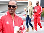 Picture Shows: Paige Butcher, Eddie Murphy  June 11, 2015\n \n Actor, Eddie Murphy and his Australian model girlfriend, Paige Butcher stop by Starbucks in Bel-Air, California. While there, manager Adam Drexler introduced Eddie and Paige to 138 Water.\n \n Non-Exclusive\n UK RIGHTS ONLY\n \n Pictures by : FameFlynet UK © 2015\n Tel : +44 (0)20 3551 5049\n Email : info@fameflynet.uk.com