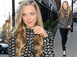 11 June 2015.\nAmanda Seyfried seen heading out for dinner at Chiltern Firehouse this evening. \nCredit: Ben Eade/GoffPhotos.com   Ref: KGC-102\n