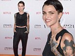 """NEW YORK, NY - JUNE 11:  Ruby Rose attends the """"Orangecon"""" Fan Event at Skylight Clarkson SQ. on June 11, 2015 in New York City.  (Photo by Jamie McCarthy/Getty Images)"""