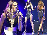 12 Jun 2015 - LEEDS - UK  ALESHA DIXON LIVE IN CONCERT SUPPORTING PHARRELL WILLIAMS IN AT THE FIRST DIRECT ARENA IN LEEDS   BYLINE MUST READ : XPOSUREPHOTOS.COM  ***UK CLIENTS - PICTURES CONTAINING CHILDREN PLEASE PIXELATE FACE PRIOR TO PUBLICATION ***  **UK CLIENTS MUST CALL PRIOR TO TV OR ONLINE USAGE PLEASE TELEPHONE   44 208 344 2007 **