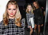 LONDON, ENGLAND - JUNE 11:  Lottie Moss and Jourdan Dunn pose as HTC and Jourdan Dunn launch the Limited Edition HTC One M9 INK handset at ME Hotel on June 11, 2015 in London, England.  (Photo by David M. Benett/Getty Images for HTC)