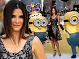 Sandra Bullock attending the world premiere of Minions at the Odeon Leicester Square, London. PRESS ASSOCIATION Photo. Picture date: Thursday June 11, 2015. Photo credit should read: Daniel Leal-Olivas/PA Wire\n