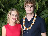 WAILEA, HI - JUNE 05:  (L-R) Emma Roberts and Evan Pierce atten the 2014 Maui Film Festival at Wailea on June 5, 2014 in Wailea, Hawaii.  (Photo by Jonathan Leibson/Getty Images for Maui Film Festival At Wailea)